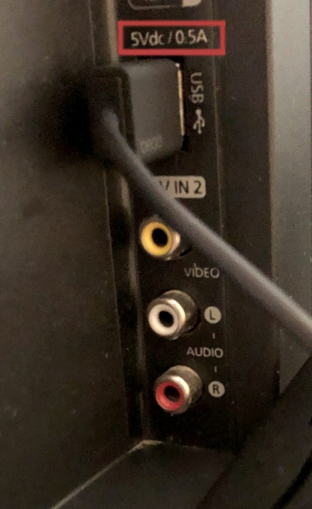 USB Port On Your TV